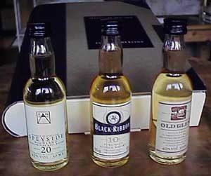 Premium Whiskey Selection
