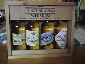 Drovers Dram, Tobermory, Teith Mill, Loch Almon