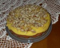 Äggmandeltårta